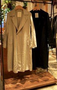 【AUGUSTE PRESENTATION Pajama Look(オーギュストプレゼンテーション パジャマルック)】リネンシーツチェスターコート
