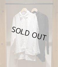 【AUGUSTE PRESENTATION Pajama Look(オーギュストプレゼンテーション パジャマルック)】Linen Sheet Regular Collar Shirt(Men's)