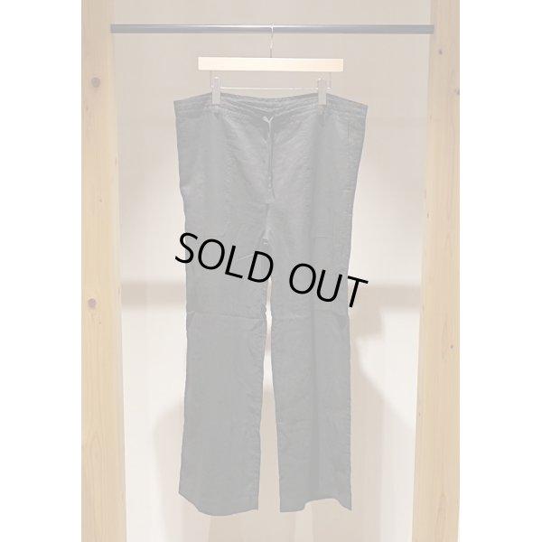 画像1: 【AUGUSTE PRESENTATION Pajama Look(オーギュストプレゼンテーション パジャマルック)】Linen Sheet Wide Pants(Men's)