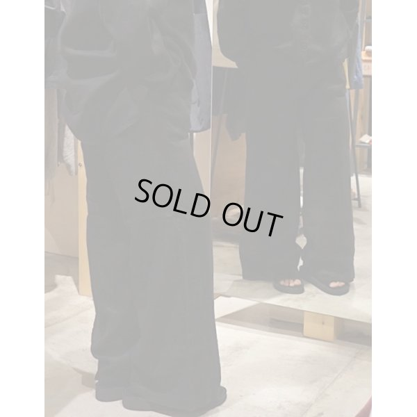 画像3: 【AUGUSTE PRESENTATION Pajama Look(オーギュストプレゼンテーション パジャマルック)】Linen Sheet Wide Pants(Men's)