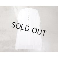 【Omar Afridi(オマールアフリディ)】Omar Shirt/Mid Weight Cotton White