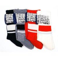 【RoToTo(ロトト)×BRU NA BOINNE(ブルーナボイン)】Safety border socks