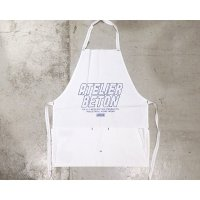 【ATELIER BÉTON(アトリエベトン)】CANVAS APRON-WHITE/BÉTON