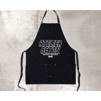 【ATELIER BÉTON(アトリエベトン)】CANVAS APRON-BLACK/BÉTON