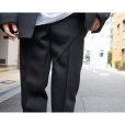 画像6: 【Omar Afridi(オマールアフリディ)】TWISTED STRAIGHT TROUSERS/BLACK TRICOTINE (6)