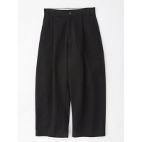 【STUDIO NICHOLSON(スタジオニコルソン)】SORTE-VOLUME PLEAT PANTS/BLACK