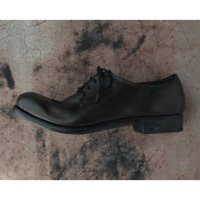 【SUGINARI MORIMOTO(スギナリモリモト)】Lace Up Derby Shoes/Black